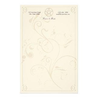 Efectos de escritorio de Handfasting Personalized Stationery