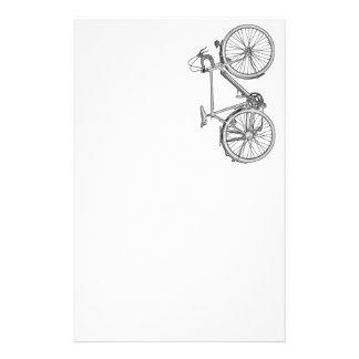 Efectos de escritorio de la bicicleta del vintage personalized stationery