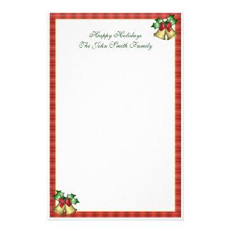 Efectos de escritorio de la familia del navidad  papeleria de diseño
