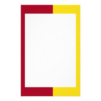 Efectos de escritorio de la frontera del cardenal papeleria personalizada