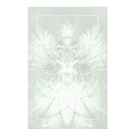 Efectos de escritorio de la hada del jade papelería de diseño