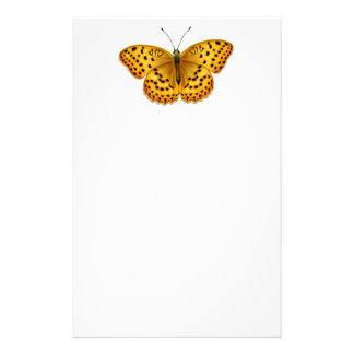 Efectos de escritorio de la mariposa del Fritillar Papeleria