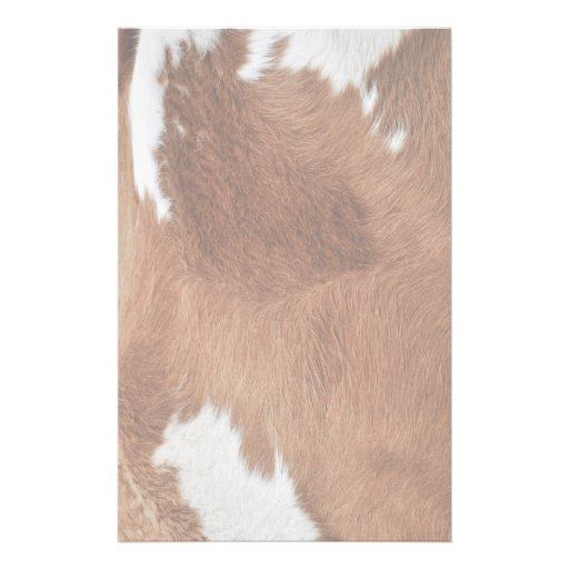 Efectos de escritorio de la piel de la vaca papeleria de diseño
