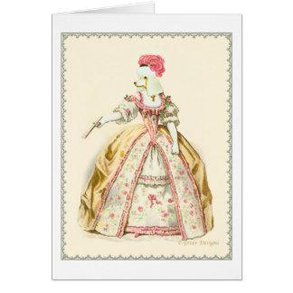 Efectos de escritorio de la placa de moda del tarjeta de felicitación