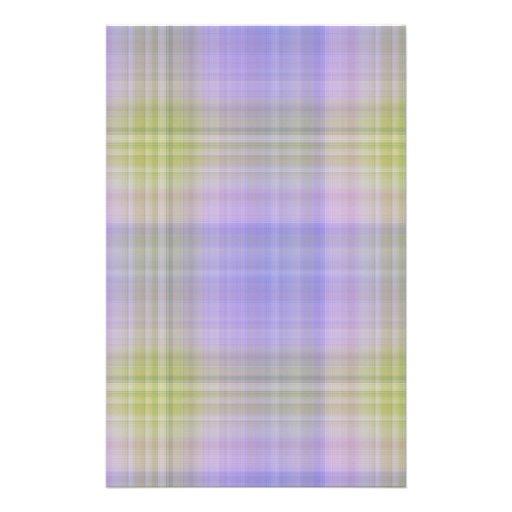 Efectos de escritorio de la tela escocesa de Delph Papelería De Diseño
