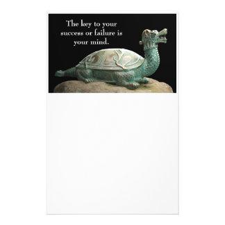 Efectos de escritorio de la tortuga del dragón papeleria