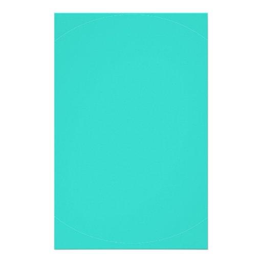 Efectos de escritorio de la turquesa papeleria de diseño