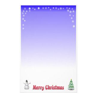 Efectos de escritorio de las Felices Navidad Papelería