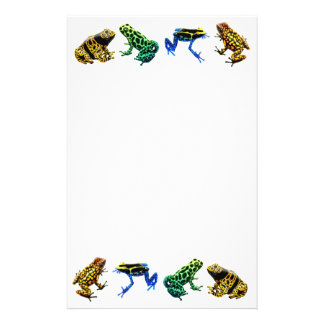 Efectos de escritorio de las ranas del veneno papeleria de diseño