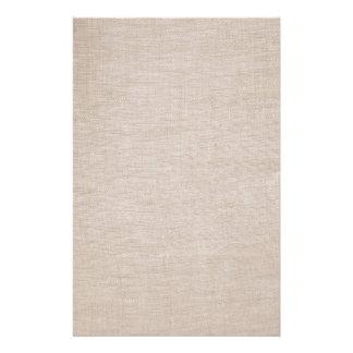 Efectos de escritorio de lino crudos elegantes de papelería