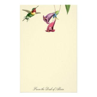 Efectos de escritorio de los colibríes de Goulds Papelería