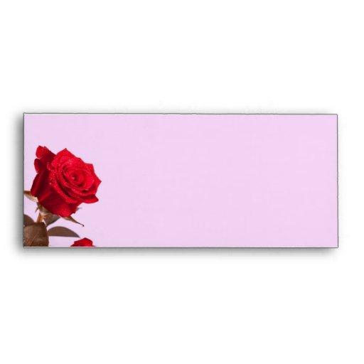 Efectos de escritorio de los rosas rojos