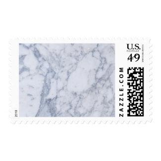 Efectos de escritorio de mármol blancos del boda timbre postal