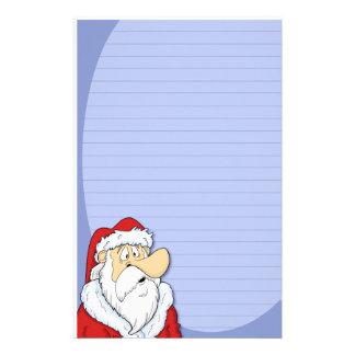 Efectos de escritorio de Papá Noel del dibujo anim Papeleria De Diseño