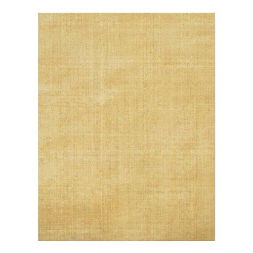 Efectos de escritorio de papel de pergamino plantilla de membrete