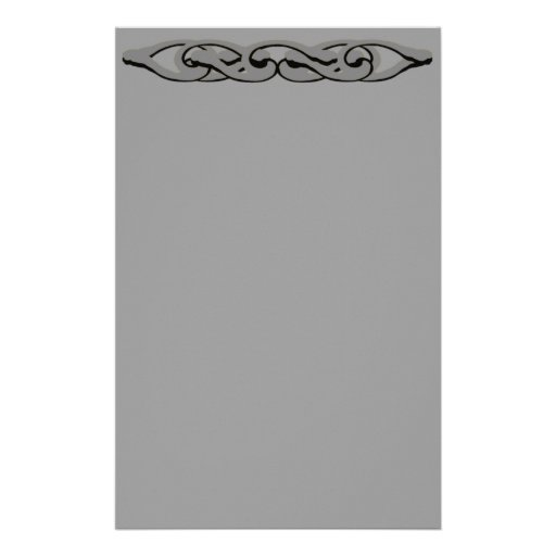 Efectos de escritorio de plata de la cerradura papeleria de diseño