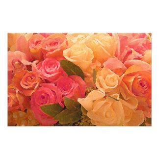 Efectos de escritorio de Roses_ Papeleria