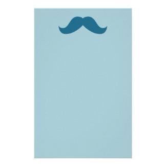 Efectos de escritorio del bigote papelería de diseño