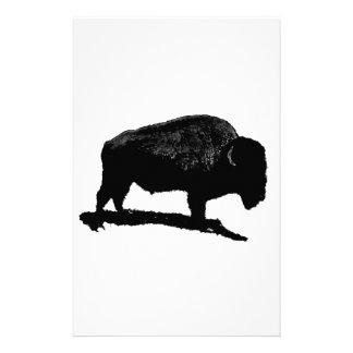 Efectos de escritorio del búfalo papelería