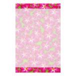 Efectos de escritorio del collage del rosa de desi papeleria personalizada