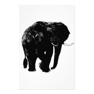 Efectos de escritorio del elefante
