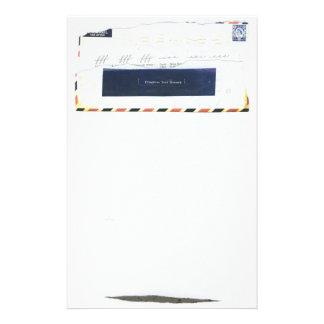 Efectos de escritorio del expediente de la prueba papelería personalizada