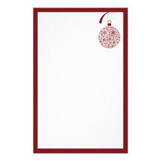 Efectos de escritorio del navidad del ornamento papelería