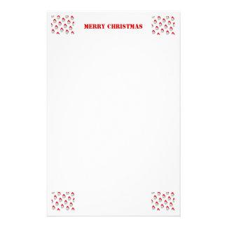Efectos de escritorio del navidad papelería personalizada