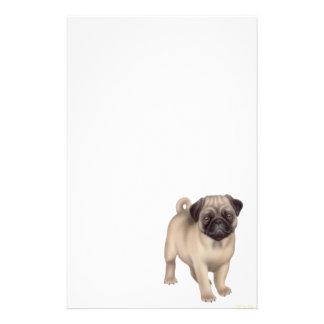 Efectos de escritorio del perrito del barro amasad papeleria de diseño