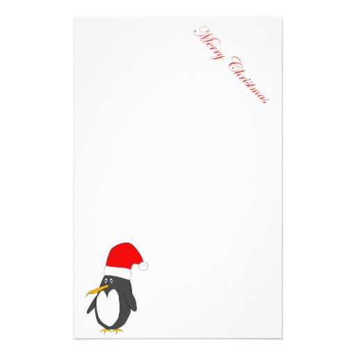 Efectos de escritorio del pingüino de Santa Papeleria