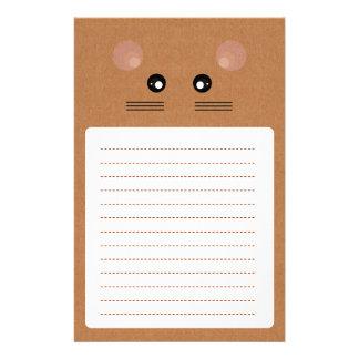 Efectos de escritorio del ratón de la cartulina papelería