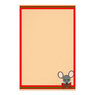 Efectos de escritorio del ratón del navidad papeleria