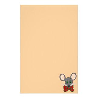 Efectos de escritorio del ratón del navidad  papeleria de diseño