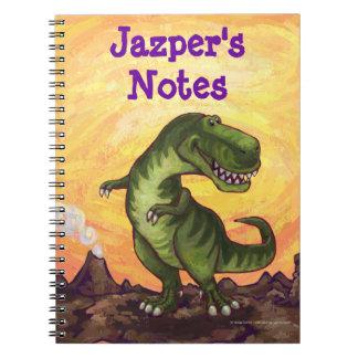 Efectos de escritorio del Tyrannosaurus Cuaderno
