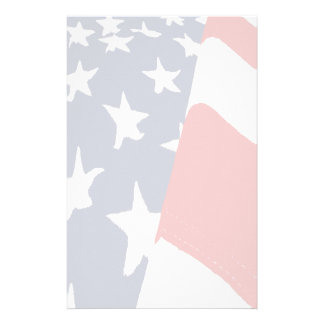 Efectos de escritorio descolorados de la bandera a  papeleria