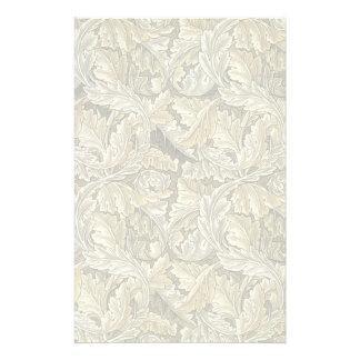 Efectos de escritorio Diseño de William Morris V Papeleria Personalizada