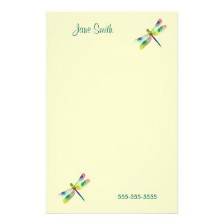 Efectos de escritorio en colores pastel de la personalized stationery