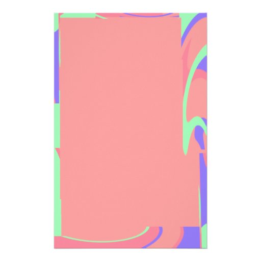 Efectos de escritorio en colores pastel de la selv papelería
