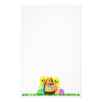 Efectos de escritorio felices de Pascua Papelería De Diseño