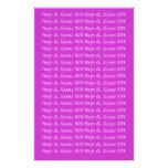 Efectos de escritorio fofos de la letra de amor de  papeleria