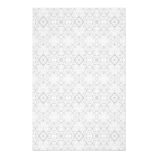 Efectos de escritorio geométricos barrocos grises   papeleria