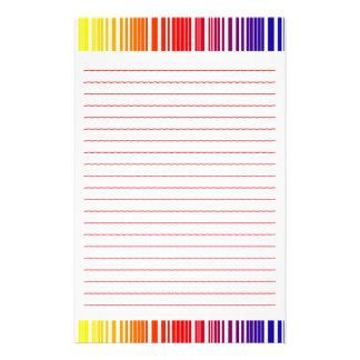 """Efectos de escritorio """"grado del color"""" con las lí papeleria personalizada"""
