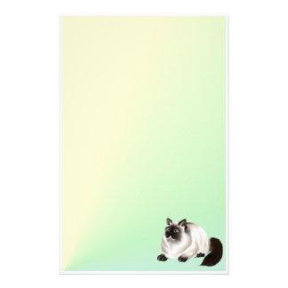 Efectos de escritorio Himalayan del gatito 2 Papeleria De Diseño