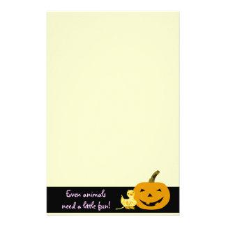 Efectos de escritorio lindos de Halloween: Pato y  Papeleria