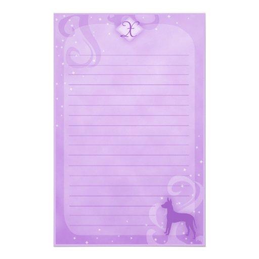Efectos de escritorio mágicos púrpuras de Xoloitzc Papelería