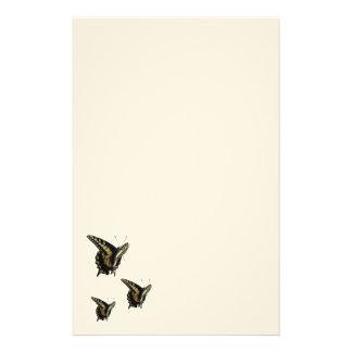 Efectos de escritorio - mariposas de Swallowtail Papeleria De Diseño