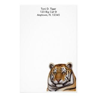 Efectos de escritorio orgullosos del tigre de Beng Papeleria