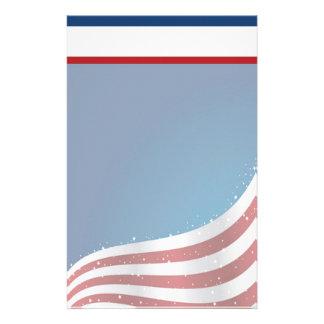 Efectos de escritorio patrióticos de los E.E.U.U. Papeleria