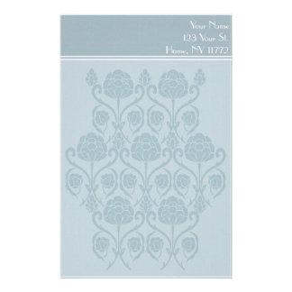 Efectos de escritorio personales florales papeleria de diseño