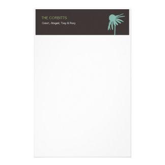 Efectos de escritorio personalizados de la familia papeleria personalizada